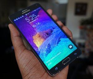 Samsung Galaxy Note 4 Cam Değişimi Fiyatı